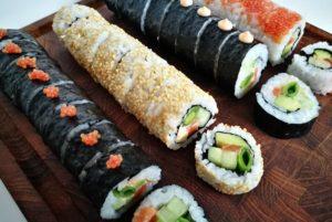 sushi lav selv opskrifter